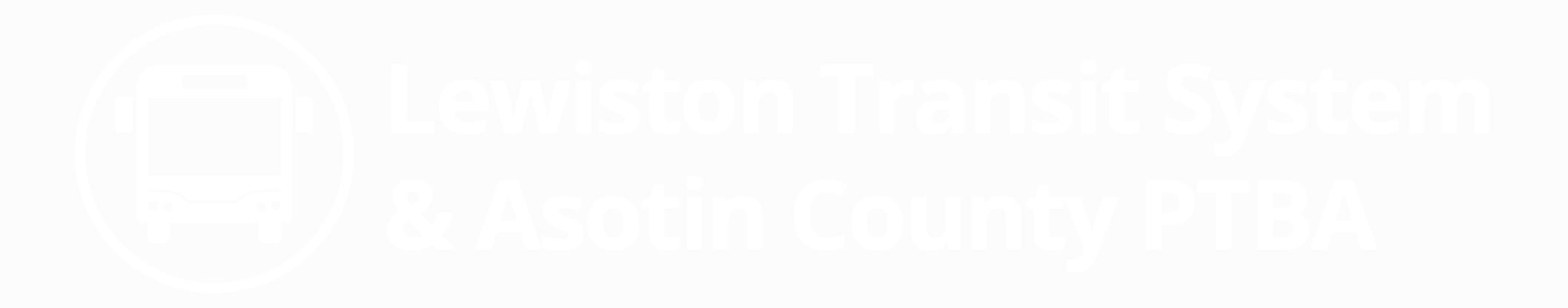 Lewiston Transit System & Asotin County PTBA